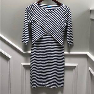 J.McLaughlin 3/4 sleeve dress.